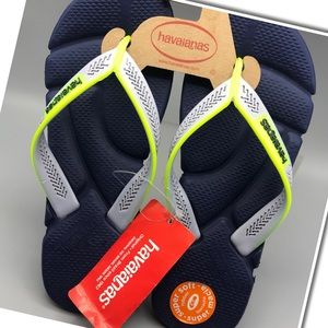 Other - Havaianas Navy Grey/Ice Sizes 9.5-10 & 11-12